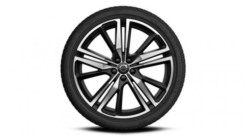 "Complete wielen, winter ""5-tripple spaaks Matt Black Diamond Cut"" 8 x 20"", incl. Twin Engine"