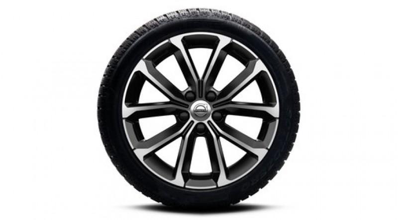 """Complete wielen, winter """"5-V spaaks Black Diamond Cut"""" 7 x 17"""""""
