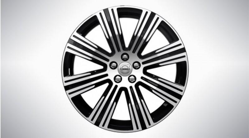 """Complete wielen, winter """"8-multispaaks Black Diamond Cut"""" 8,5 x 20"""", excl. Twin Engine"""
