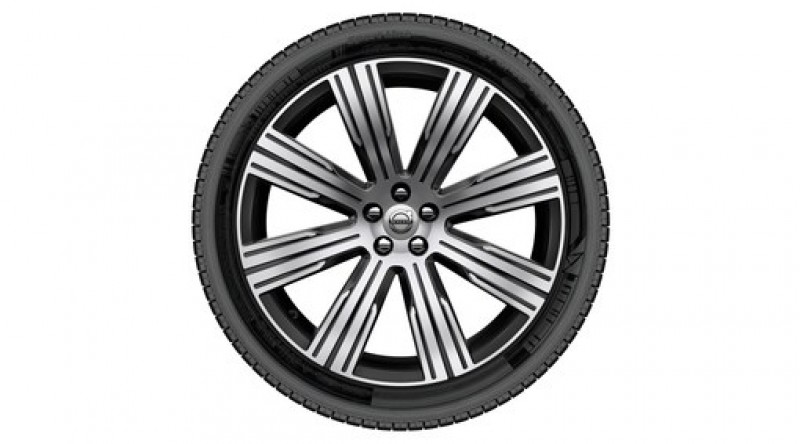 "Complete wielen, winter ""8-multispaaks Black Diamond Cut"" 9 x 21"", Nokian banden, incl. Twin Engine"