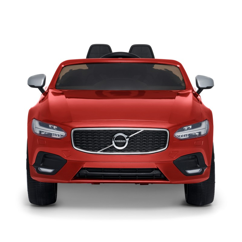 Elektrische Volvo S90 kinderauto, Electric Ride On Car, Red metallic, 32220915