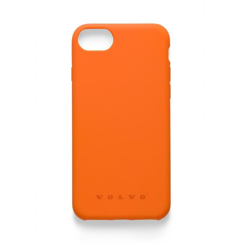 iPhone 6 / 7 / 8 Siliconen Case Volvo, oranje