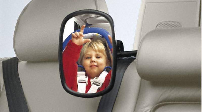 Kinderzitje, spiegel