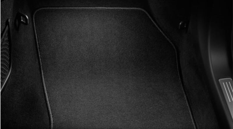 Matten, vloer passagiersruimte, textiel
