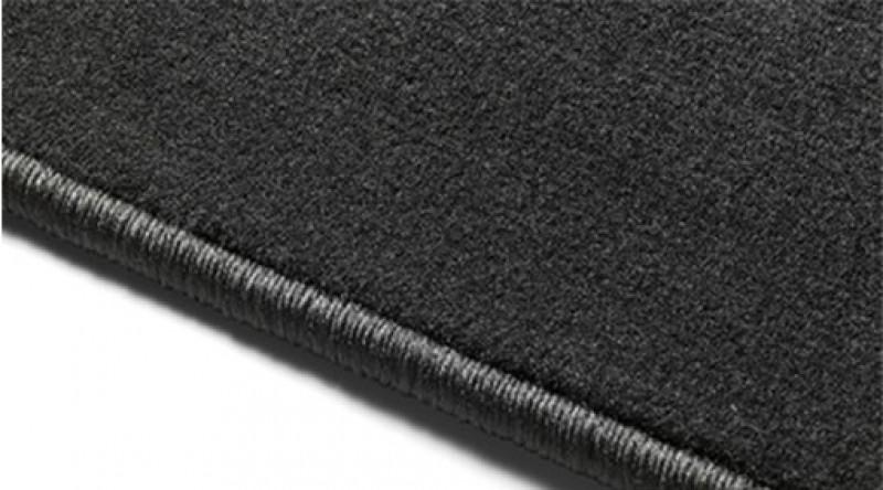 Matten, vloer passagiersruimte, textiel, Charcoal