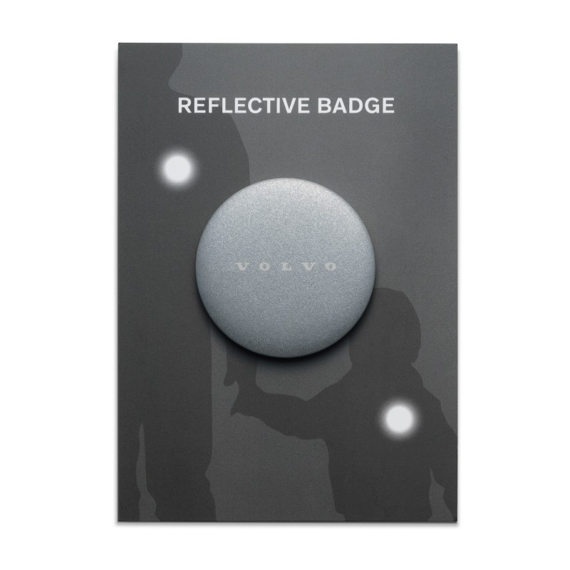 Reflecterende Volvo-badge