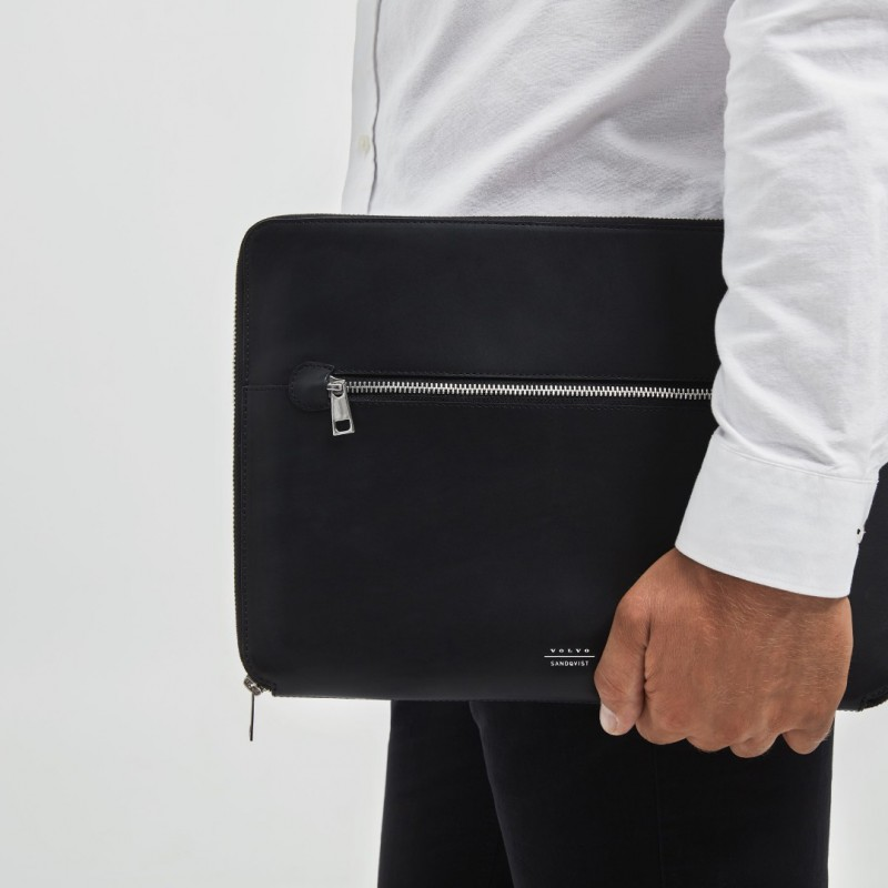 Sandqvist Laptop Sleeve Leer