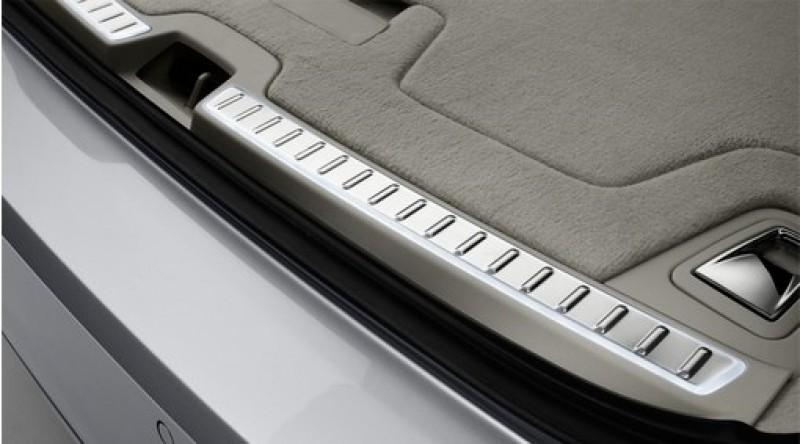 Verlichte scuff plate voor bagageruimteopening