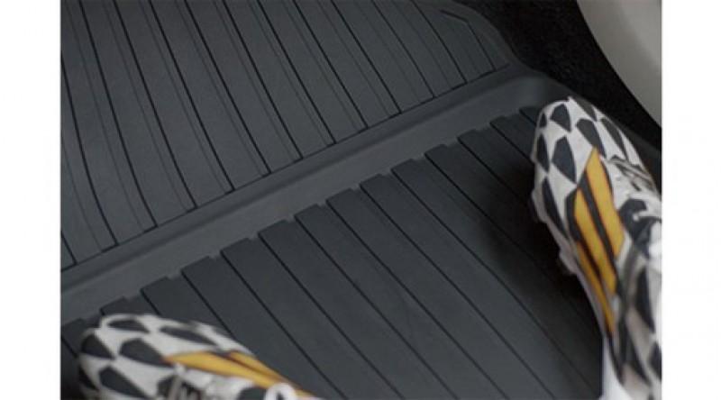 Mat, vloer passagiersruimte, rubber, Charcoal